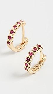 Gorjana Madison Shimmer Huggie Earrings