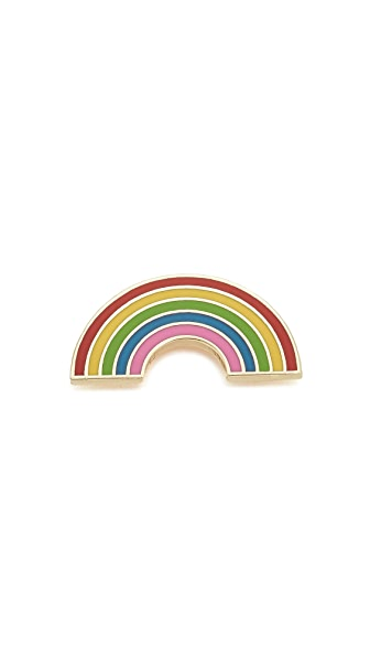 Georgia Perry Rainbow Pin