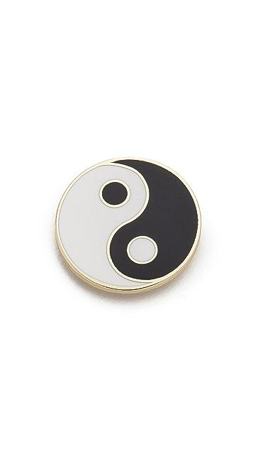 Georgia Perry Yin Yang Pin