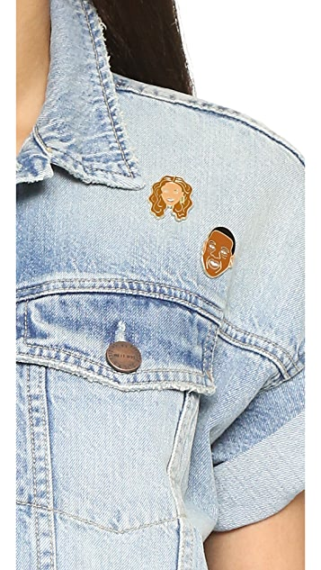 Georgia Perry Beyonce Pin