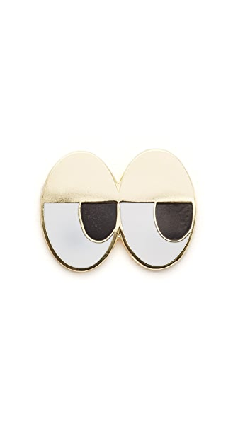 Georgia Perry Sleepy Head Pin at Shopbop