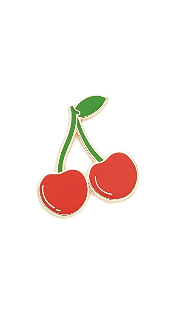 Georgia Perry Ripe Cherries Pin