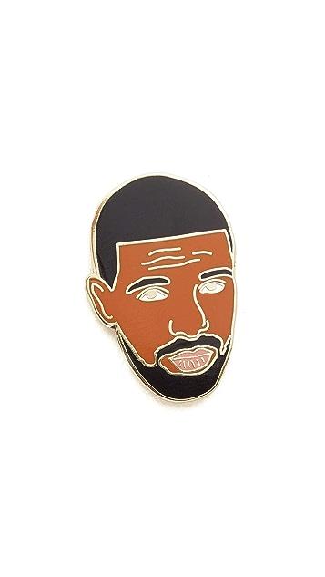 Georgia Perry Drake Pin