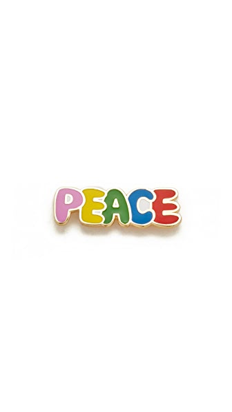 Georgia Perry Peace Lapel Pin at Shopbop