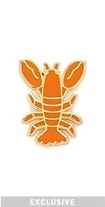 Lobster Lapel Pin Georgia Perry