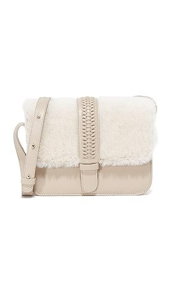 GRACE ATELIER DE LUX Colette Shearling Cross Body Bag