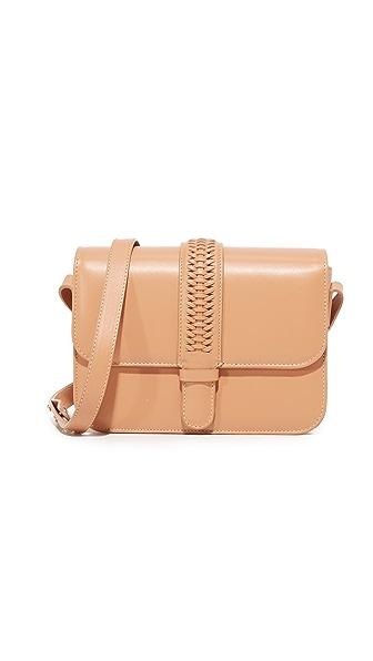 GRACE ATELIER DE LUX Colette Shoulder Bag - Cappuccino