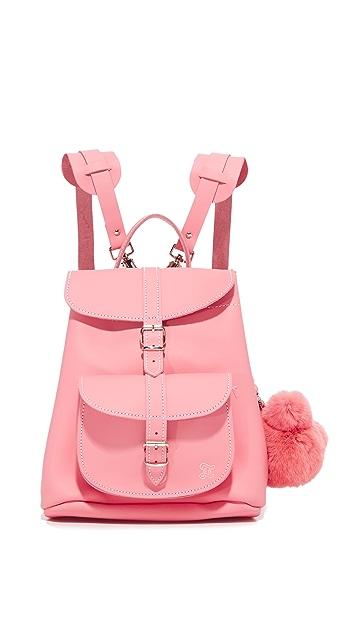 Grafea Katya Backpack with Bear Pom Pom