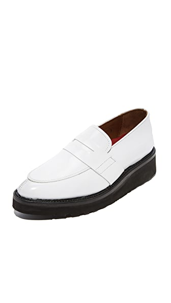 Grenson Alison Loafers In White
