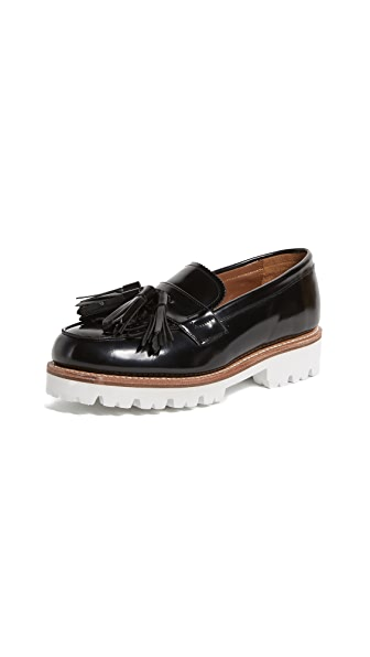 Grenson Clara Loafers In Black