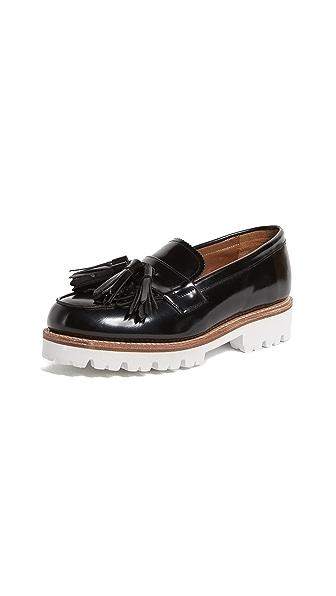Grenson Clara Loafers In Black