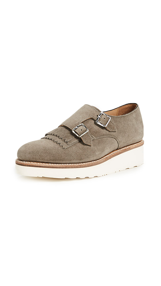 Grenson Audrey Shoes - Vigogna Suede