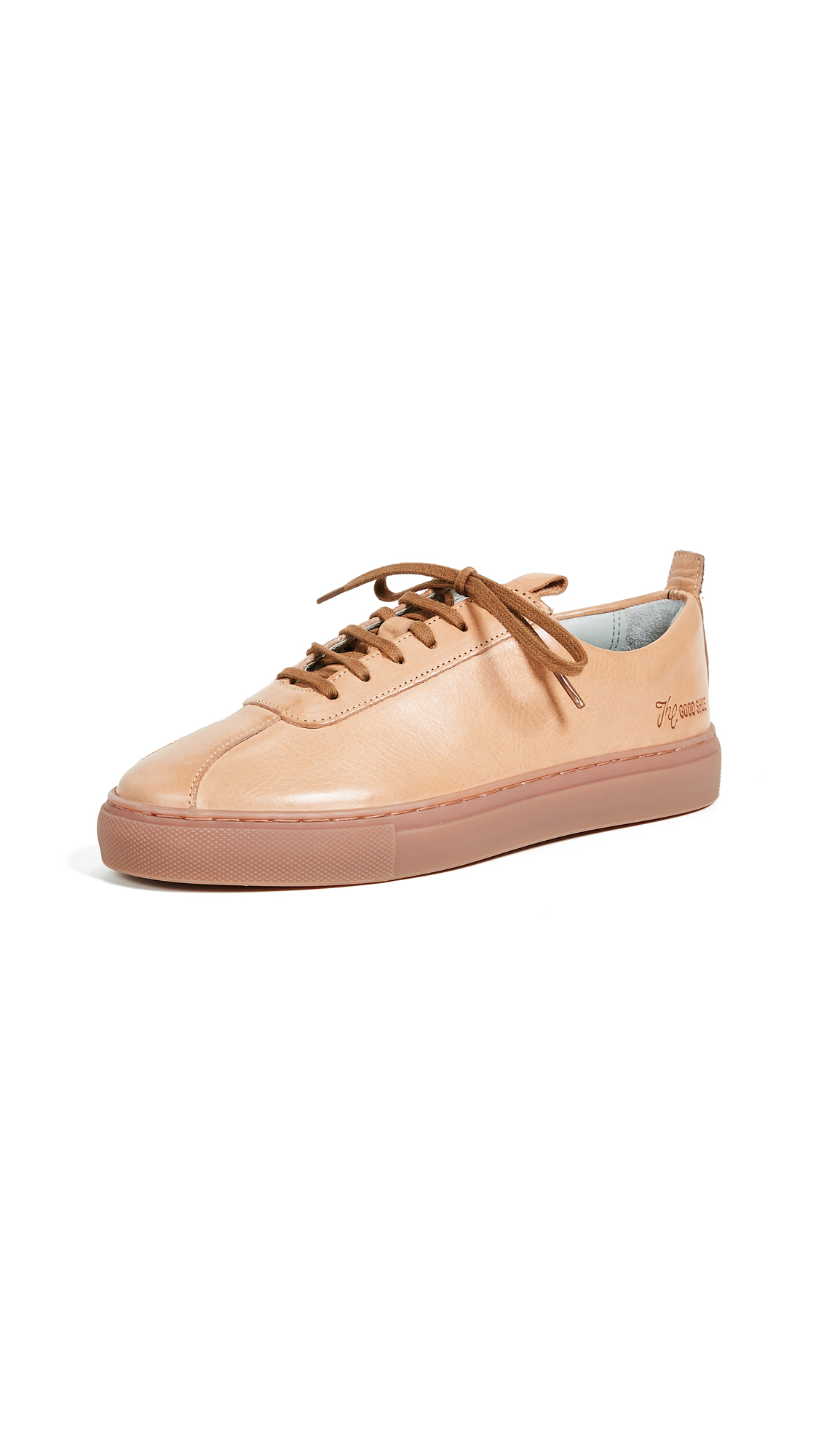 Grenson Leather Sneakers - Cuoio Calf