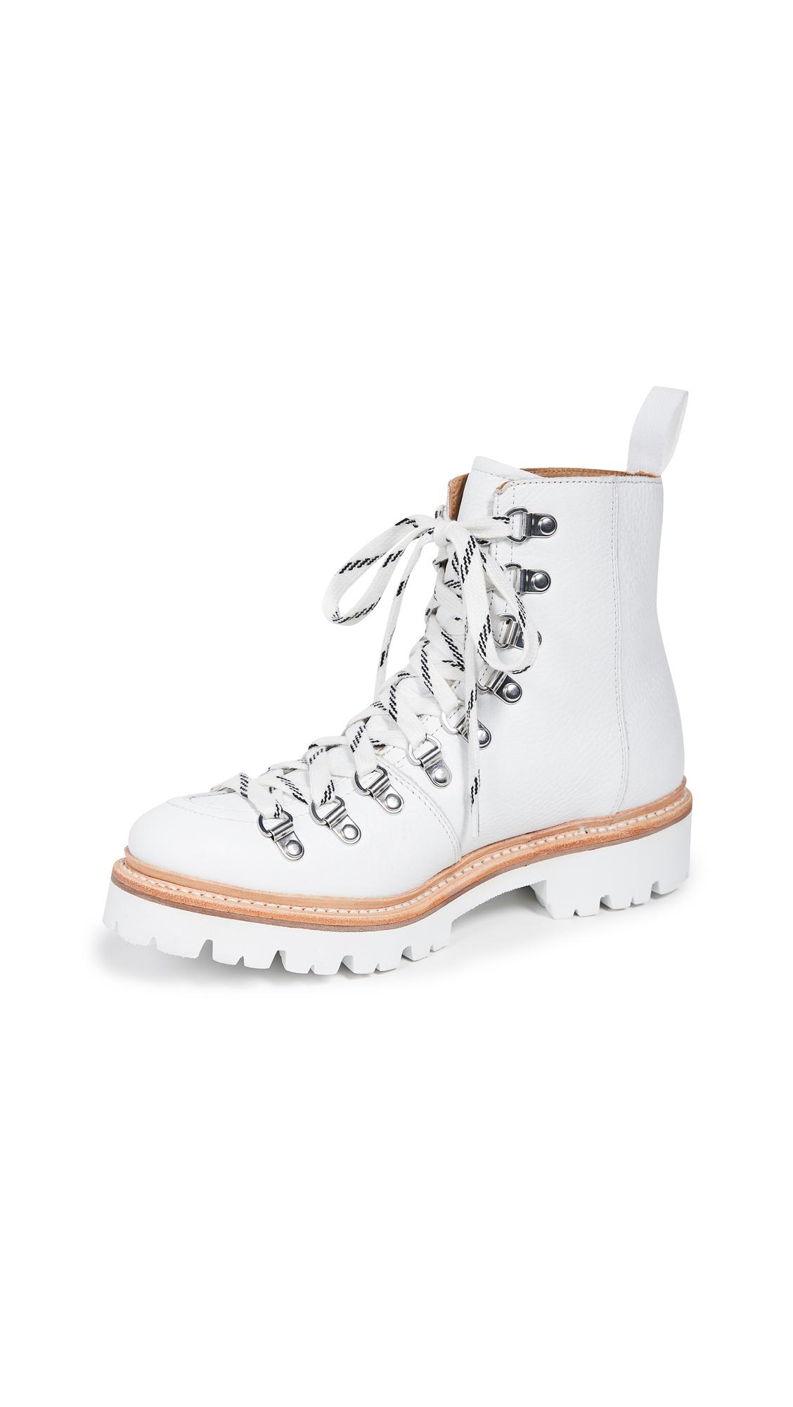 Grenson Nanette Boots - White Softie