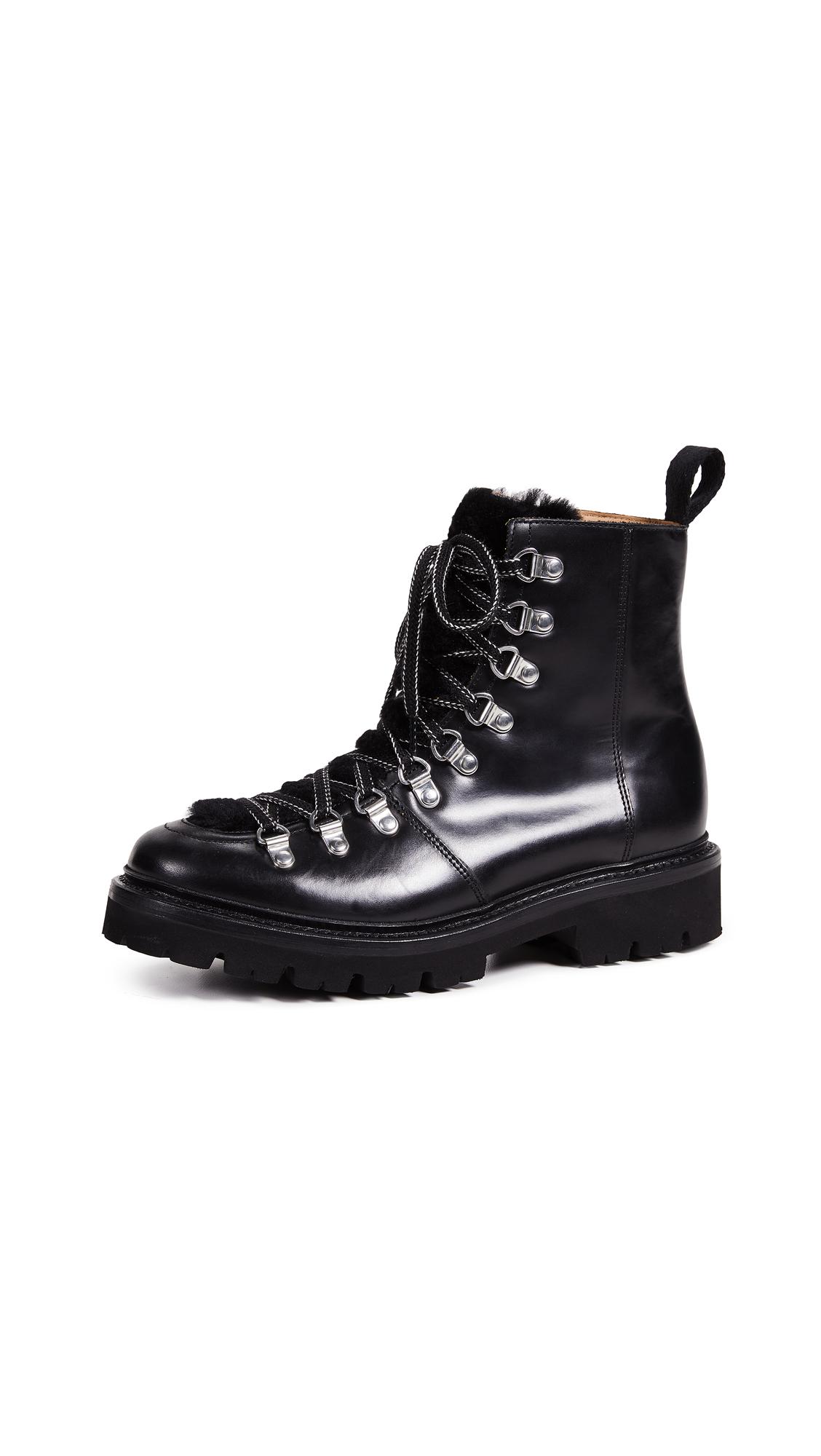 a19fd9149aa Nanette Combat Boots in Black/Black