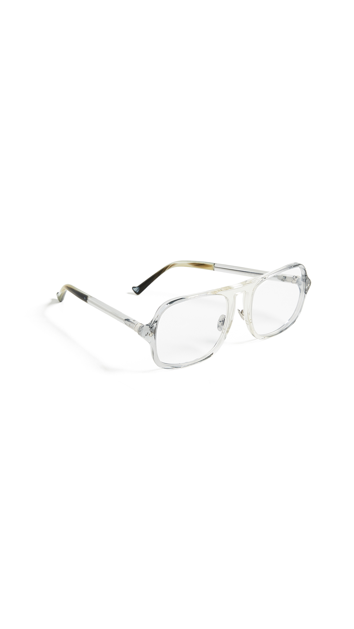 GREY ANT Coum Glasses in Clear/Clear