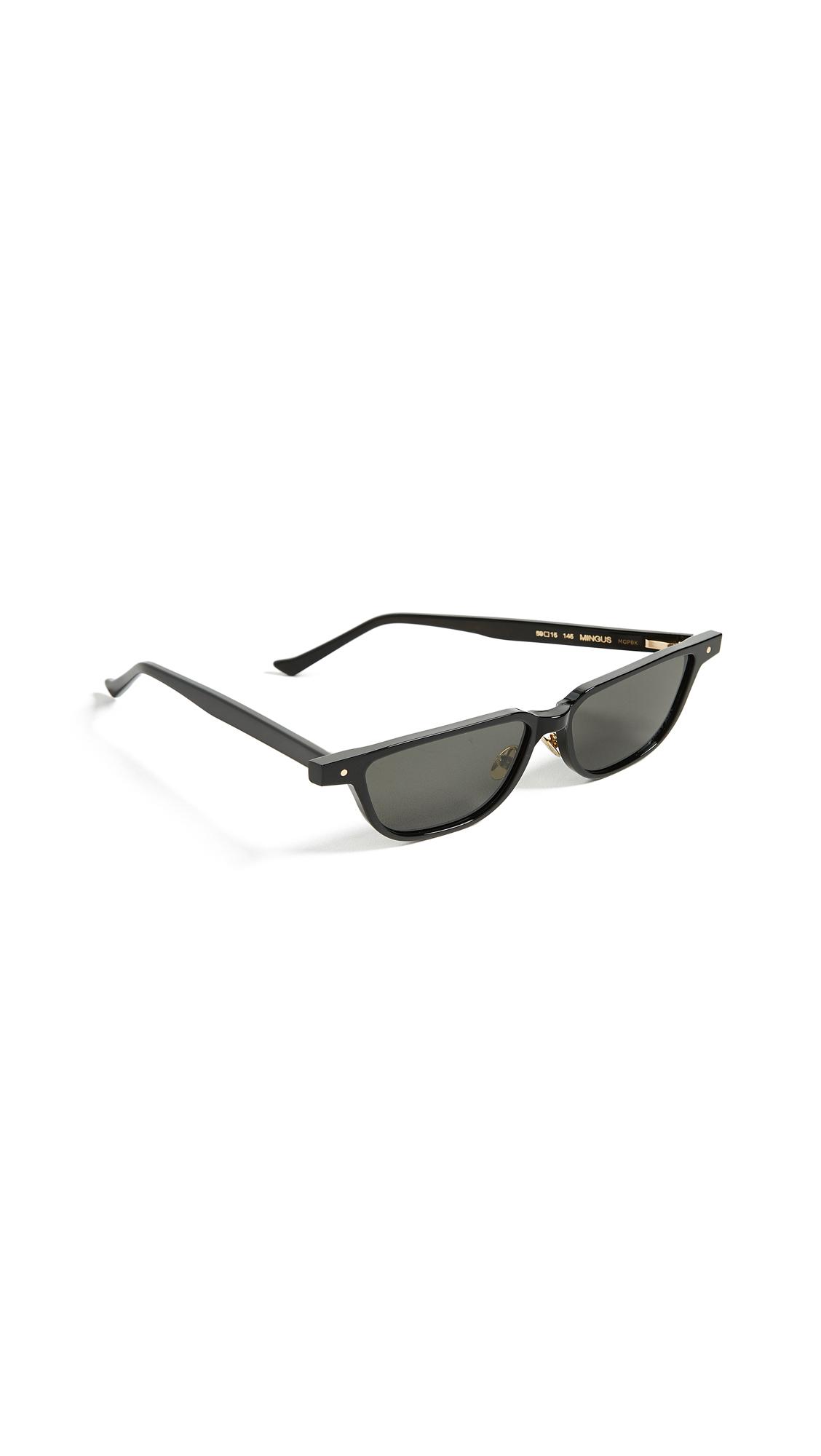 Grey Ant Mingus Sunglasses In Black/Black