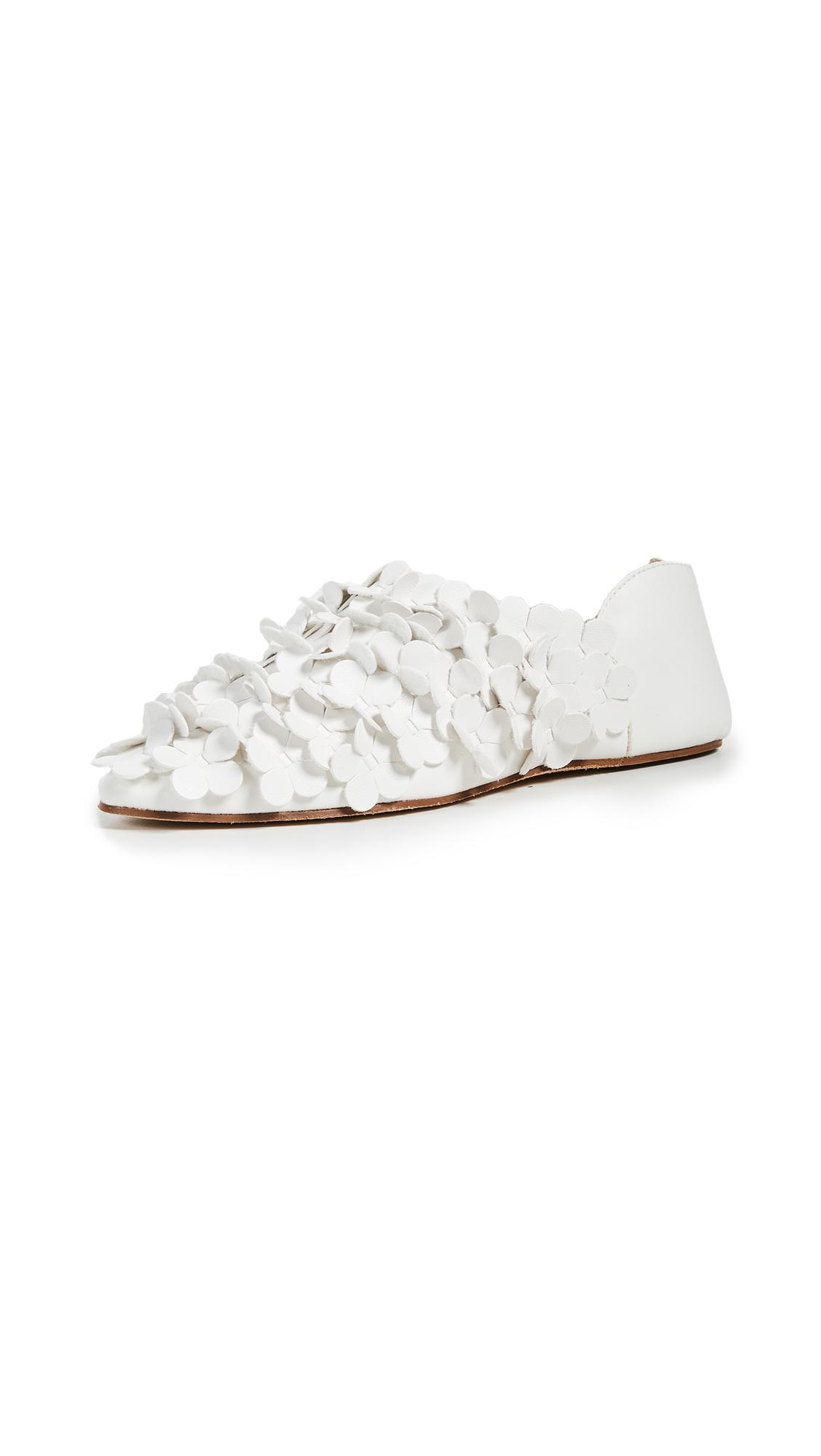 Greymer Faux Leather Medina Mules - Soft Ivory