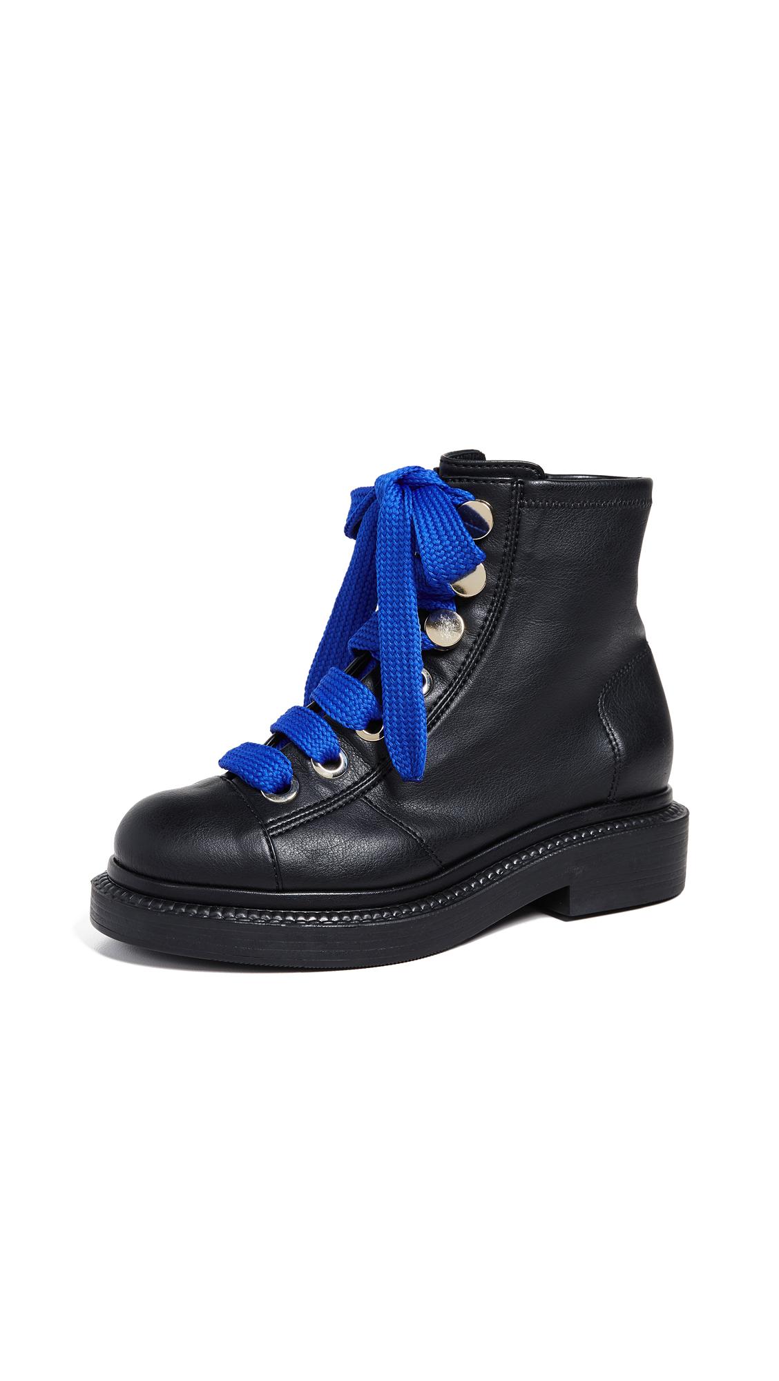 Greymer Queen Boots - Roxy Nero