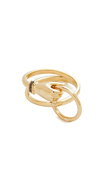 Gillian Steinhardt Wraparoundme Ring - Gold
