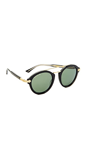 Gucci Aviator Sunglasses at Shopbop