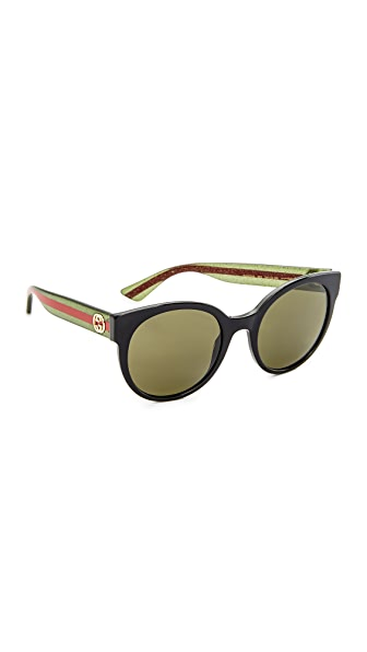 Gucci Urban Pop Round Sunglasses at Shopbop