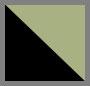 Black Glitter Green/Green