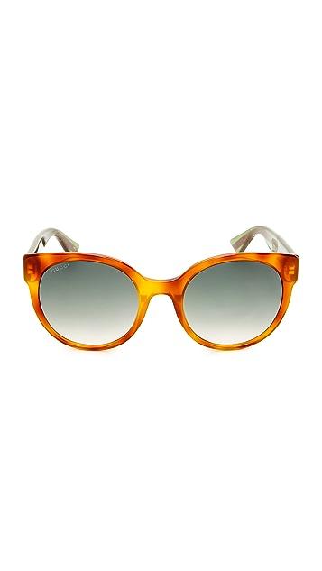 Gucci Urban Pop Round Sunglasses