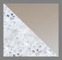 Glitter Silver/Brown