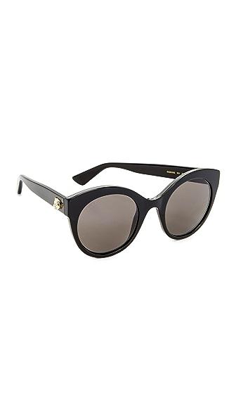 Gucci Cat Eye Tiger Sunglasses