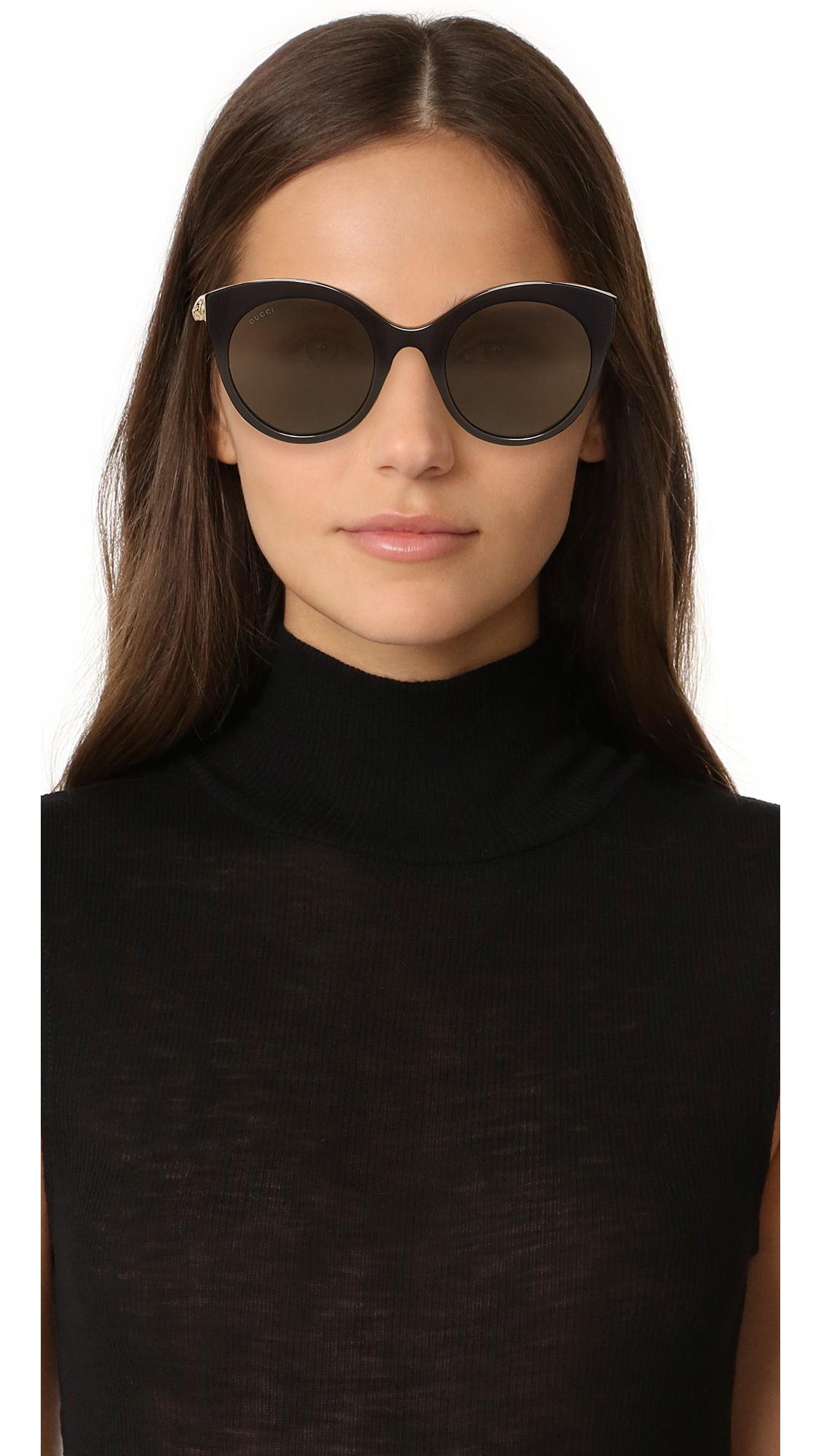 ce27fcc1b2c Gucci Cat Eye Tiger Sunglasses