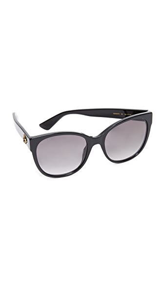 Gucci Sensual Romanticism Cat Eye Sunglasses at Shopbop