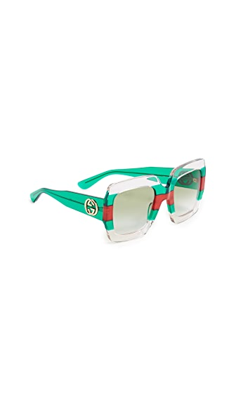 Gucci Urban Pop Square Sunglasses at Shopbop