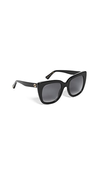 Gucci Square Sunglasses at Shopbop