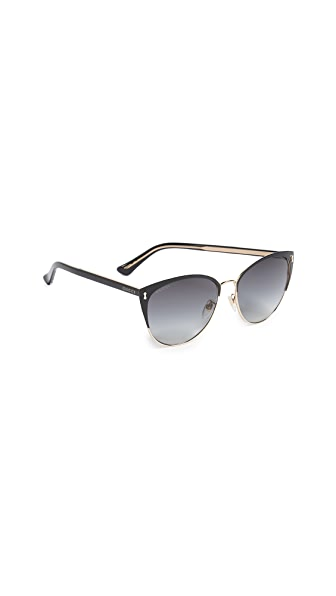 Gucci Opulent Luxury Decor Sunglasses at Shopbop