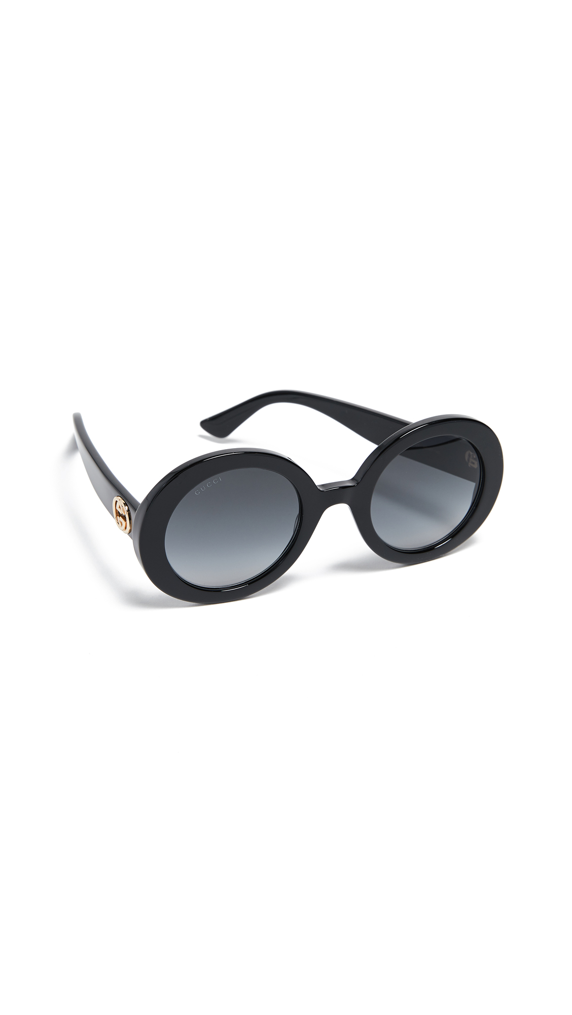 GG OVAL SUNGLASSES