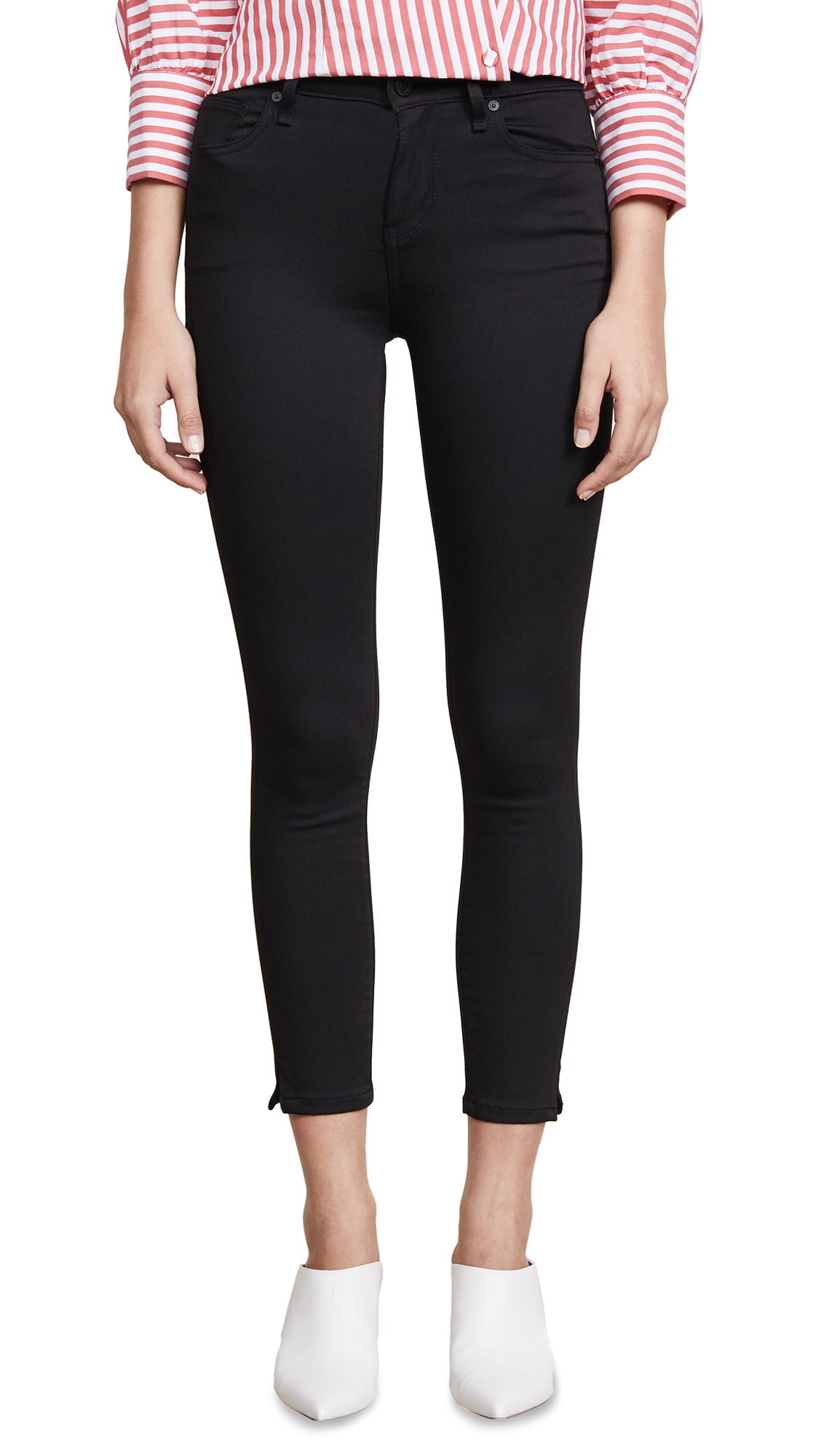 Habitual Skinny Ankle Jeans In Forever Black