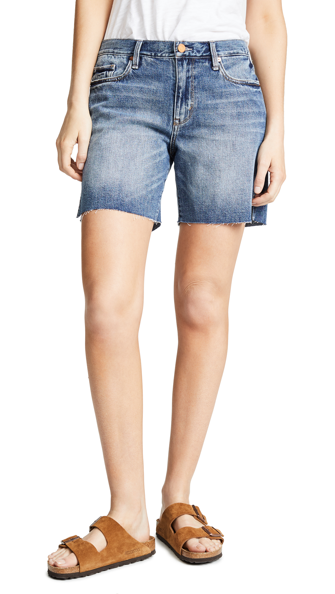 Habitual Emily Slit Cut Off Shorts