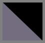 двухцветные кристально-черный/серый