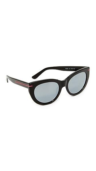 Hadid Eyewear Runway Sunglasses - Black/Silver