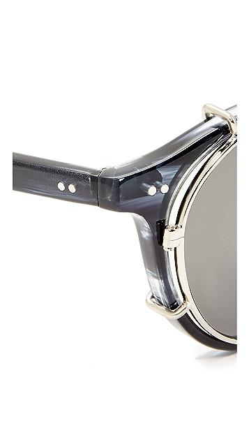 Hadid Eyewear Clip Sunglasses