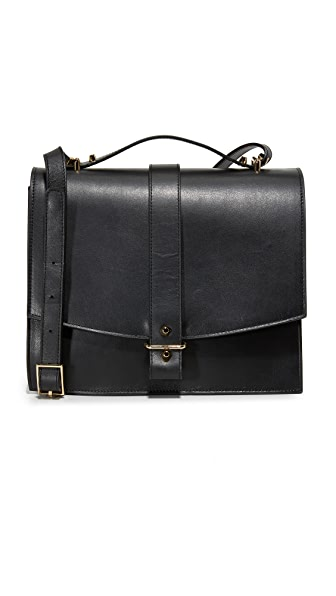 Haerfest Agnes Cross Body Satchel In Black