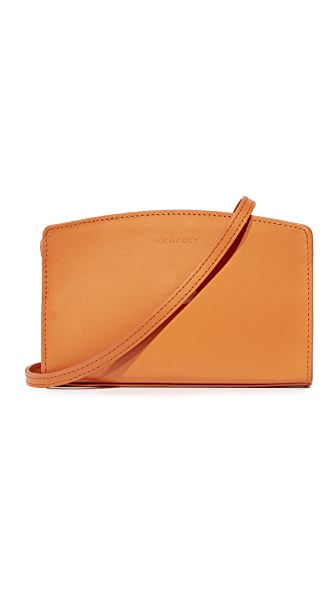 Haerfest Tara Cross Body Clutch - Persimmon