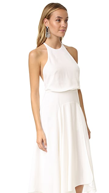 Halston Heritage High Neck Dress