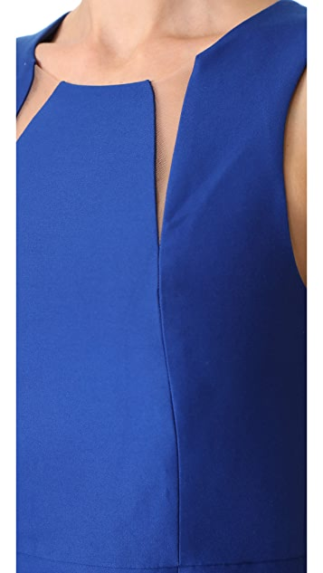 Halston Heritage Cutout Dress