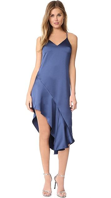 Halston Heritage Asymmetric Dress