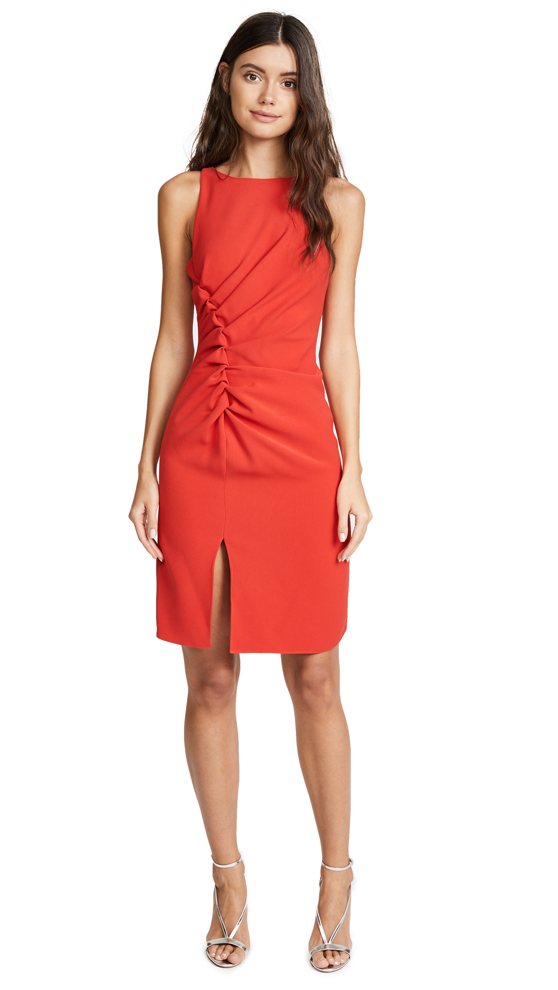 Halston Heritage Gathered Dress