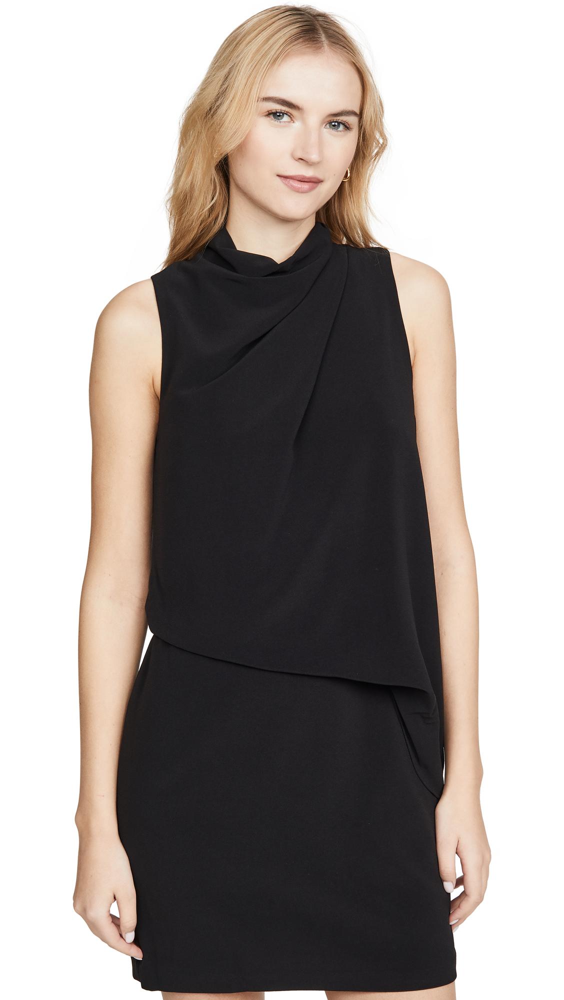 Buy HALSTON Mock Neck Dress online beautiful HALSTON Clothing, Dresses