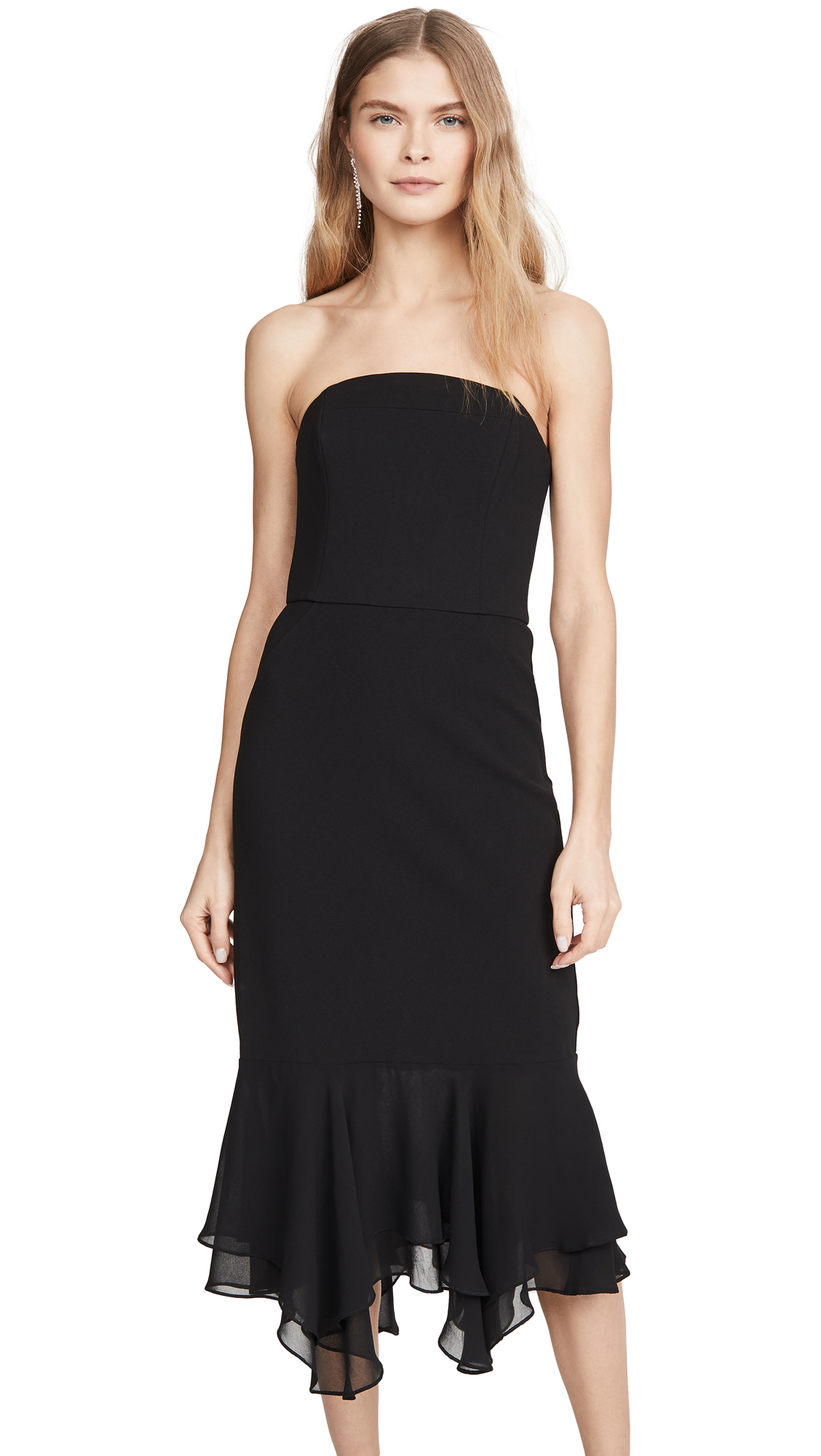 Buy HALSTON online - photo of HALSTON Crepe Dress