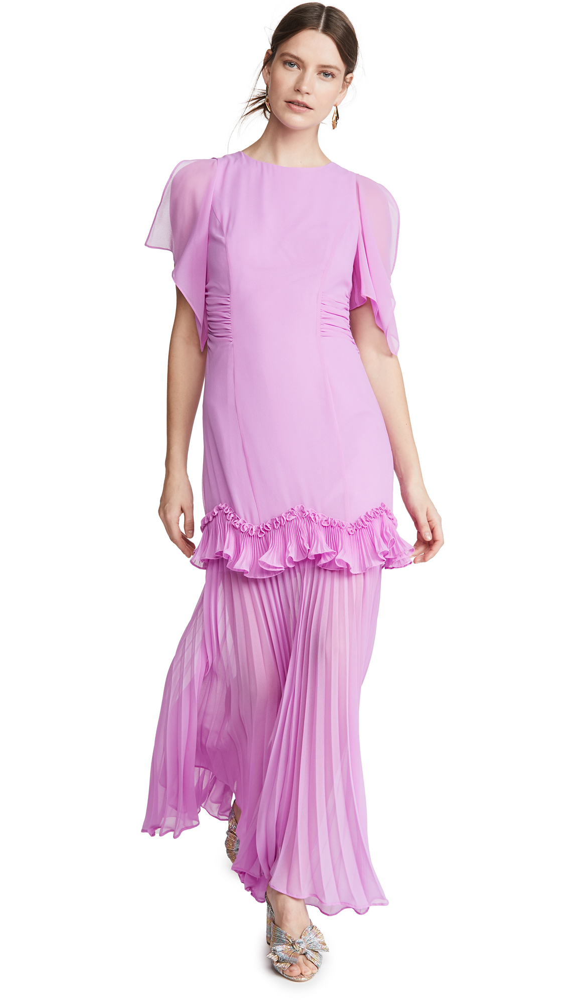 Buy HALSTON Dramatic Pleated Gown online beautiful HALSTON Dresses, Strapless